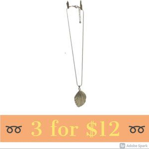 Shell Shaped Pendant Necklace
